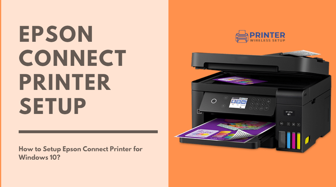 Setup Epson Wireless Printer On Windows