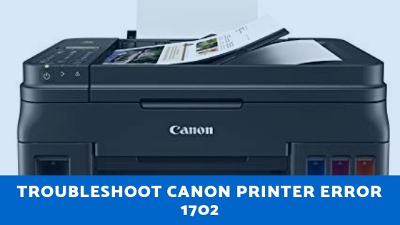 Canon Printer Error 1702