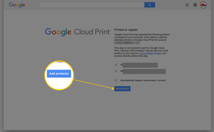 Add Your Printer To Chrome Book