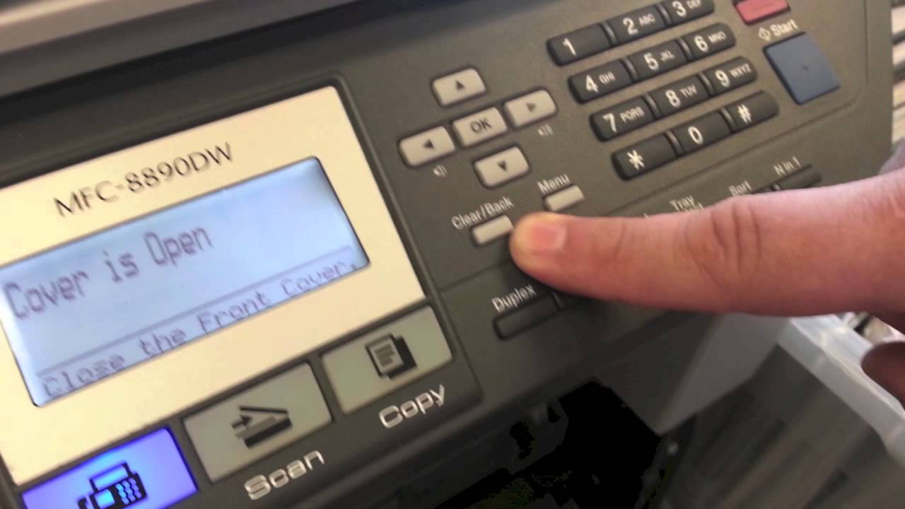 Brother Printer Machine Error 09