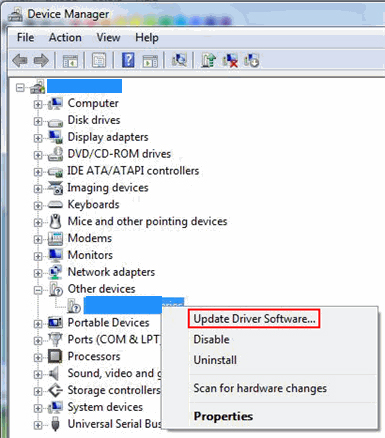UPDATING THE CANON DRIVERS